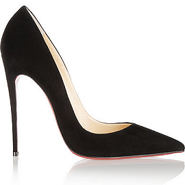 Christian Louboutin SO KATE Suede Pumps