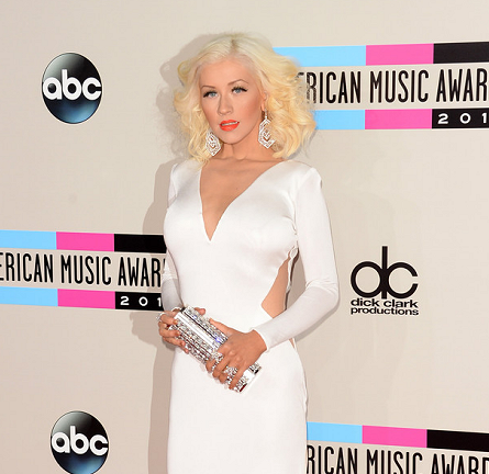 Christina Aguilera in Maria Lucia Hohan | 2013 American Music Awards