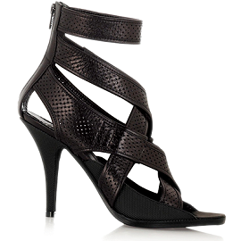 Givenchy Leather Banded Strappy Sandals
