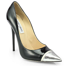 Jimmy Choo KAHLUA Cap Toe Pumps
