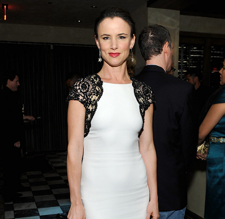 Juliette Lewis in Reem Acra | The Weinstein Company's Holiday Party