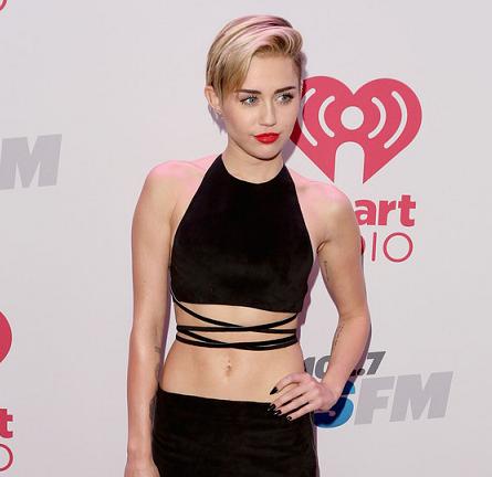 Miley Cyrus in Calvin Klein Collection | KIIS FM's Jingle Ball 2013