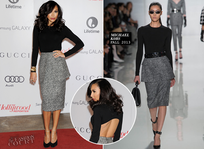 Naya Rivera in Michael Kors | THR's Women In Entertainment Breakfast 2013
