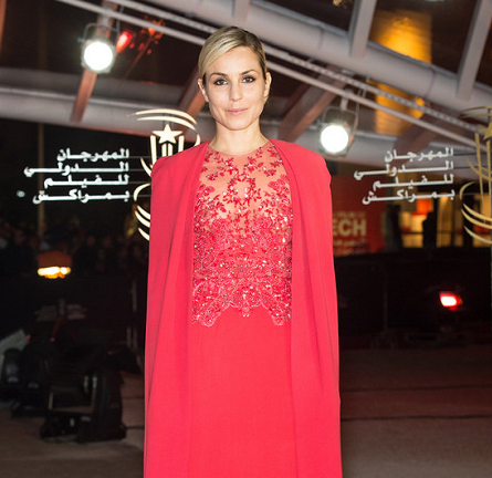 Noomi Rapace in Elie Saab Couture | 'Fernando Solanas' Tribute - 2013 Marrakech Film Festival