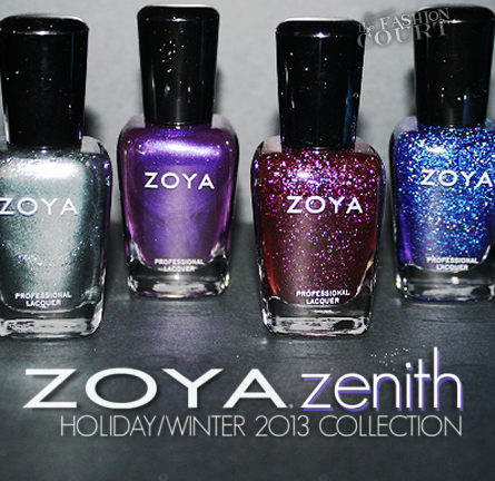 Review: ZOYA Zenith Holiday/Winter 2013 Collection