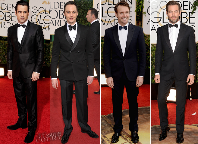 2014 Golden Globes Wrap Up: The Men