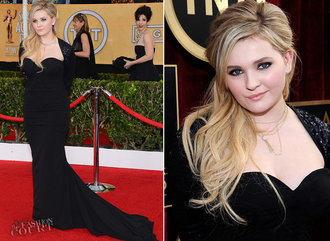 Abigail Breslin in Chagoury | 2014 SAG Awards
