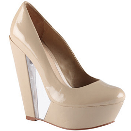 ALDO ' Desree' Patent Wedge Pumps