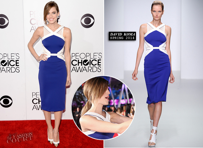 Allison Williams em David Koma | 2014 do People Choice