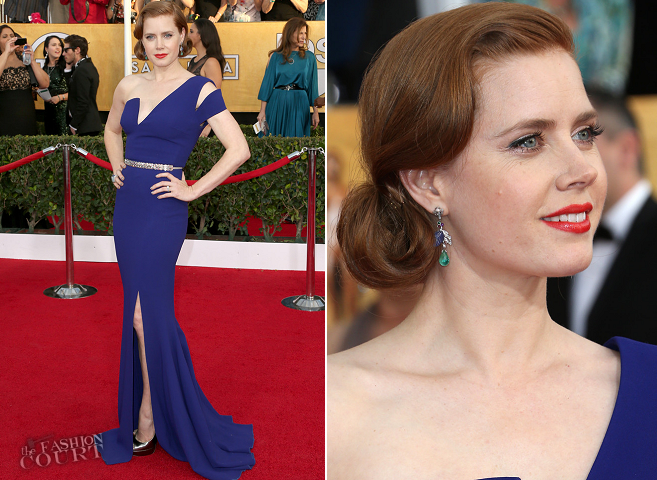 Amy Adams in Antonio Berardi | 2014 SAG Awards