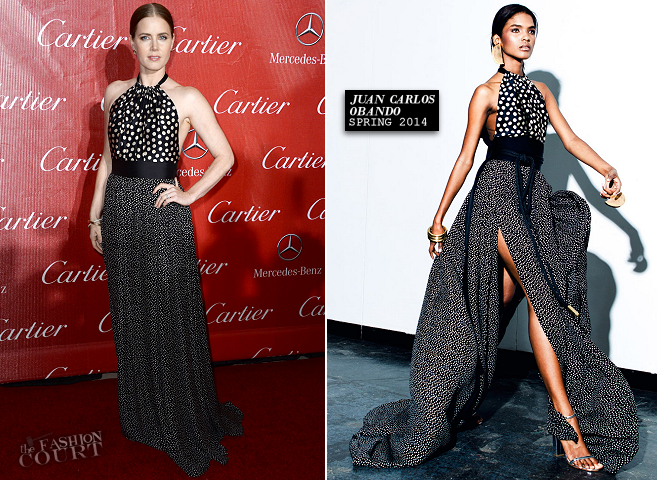 Amy Adams in Juan Carlos Obando | Palm Springs International Film Festival Awards Gala 2014