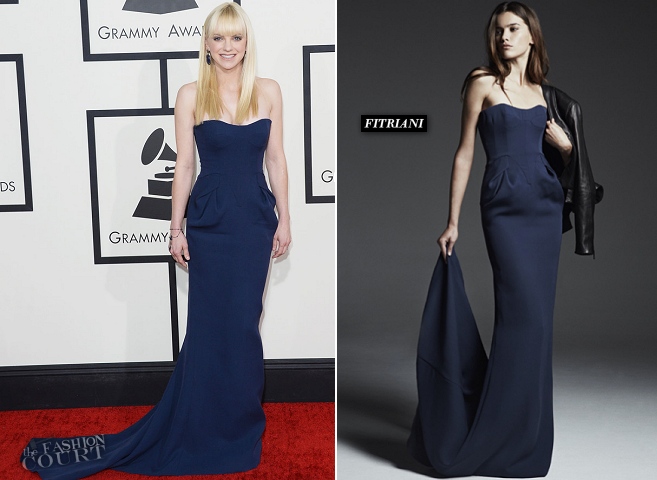 Anna Faris in FITRIANI | 2014 GRAMMY Awards