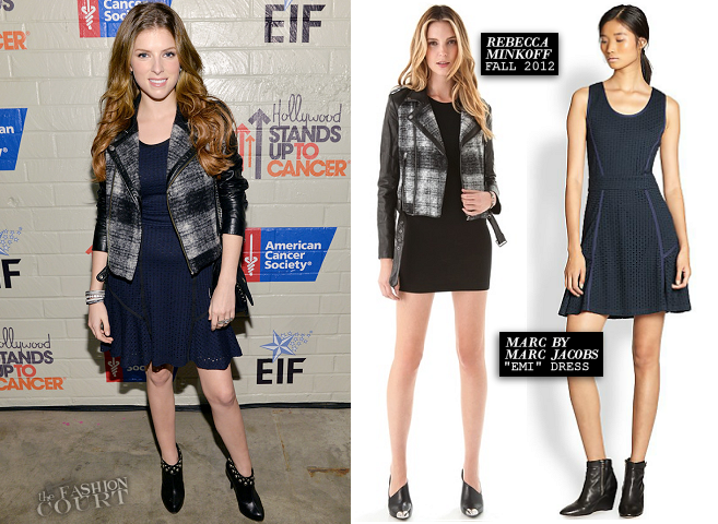 Anna Kendrick in MARC by Marc Jacobs & Rebecca Minkoff | Hollywood Stands Up to Cancer