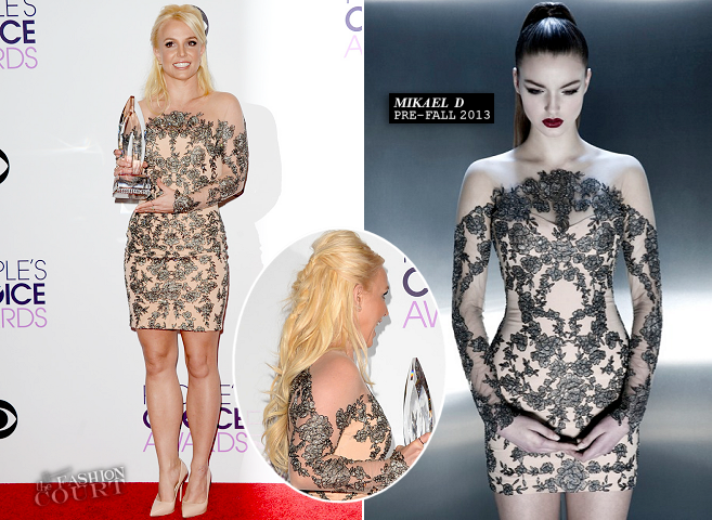 Britney Spears in Mikael D | 2014 People's Choice Awards
