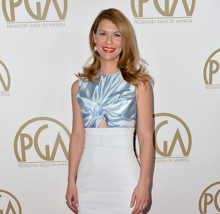 Claire Danes in Christian Dior | 2014 Producers Guild of America Awards