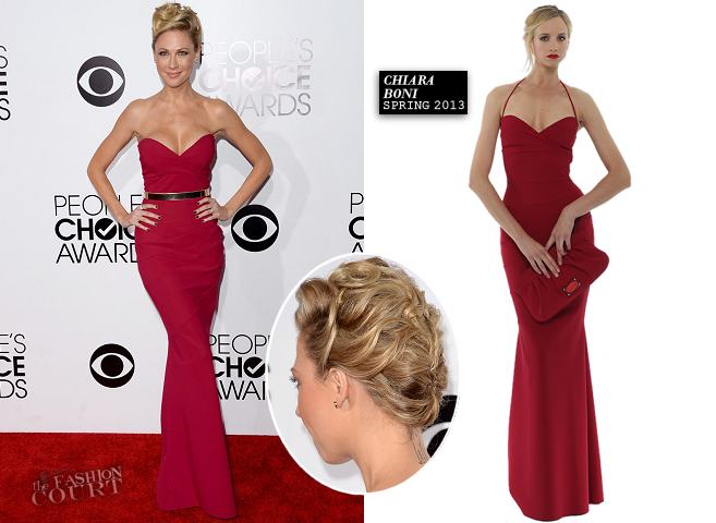 Desi Lydic in Chiara Boni | 2014 People's Choice Awards