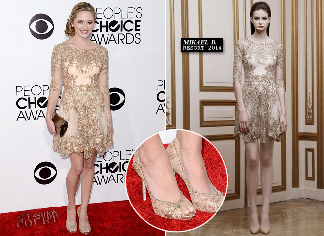 Greer Grammer em Mikael D | 2014 do People Choice