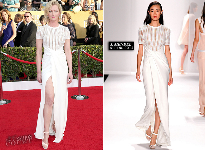 Gretchen Mol in J. Mendel | 2014 SAG Awards