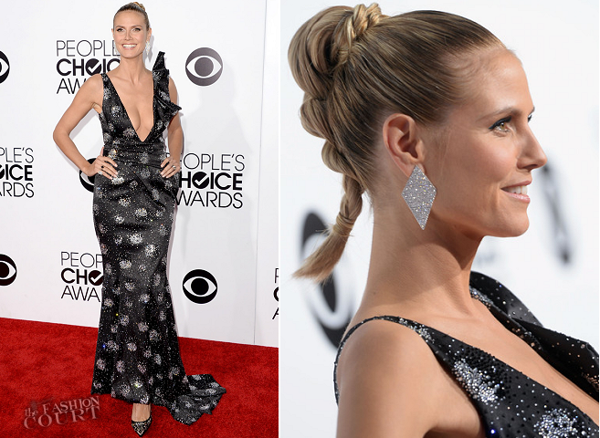 Heidi Klum em Armani Privé | 2014 do Povo Choice Awards