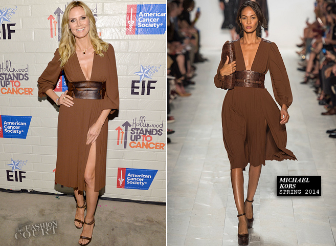 Heidi Klum in Michael Kors | Hollywood Stands Up to Cancer