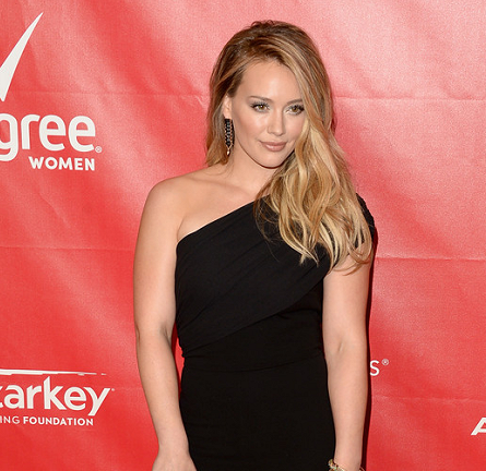 Hilary Duff in Max Mara | 2014 MusiCares Person Of The Year Honoring Carole King