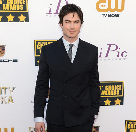 Ian Somerhalder in Dolce & Gabbana | 2014 Critics' Choice Movie Awards