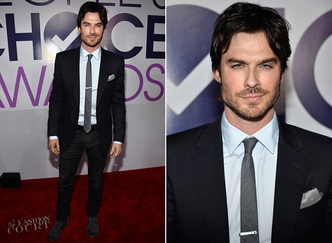 Ian Somerhalder in Z Zegna | 2014 People's Choice Awards