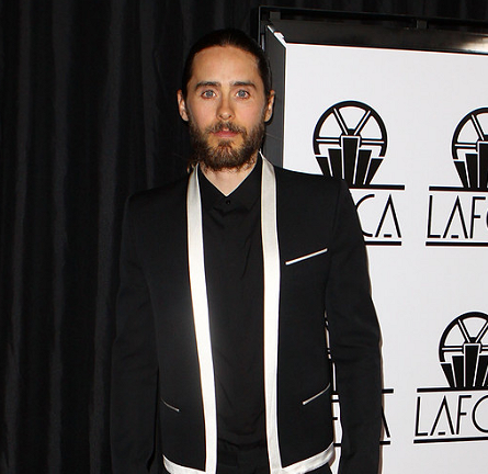 Jared Leto in Balmain Homme | 2014 Los Angeles Film Critics Association Awards