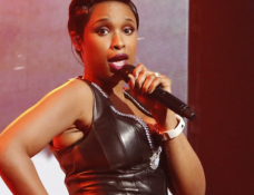 Jennifer Hudson in Barbara Bui | Dick Clark's New Year's Rockin' Eve
