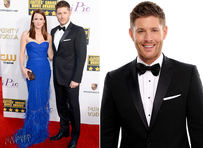 Jensen Ackles in Dolce & Gabbana | 2014 Critics' Choice Movie Awards