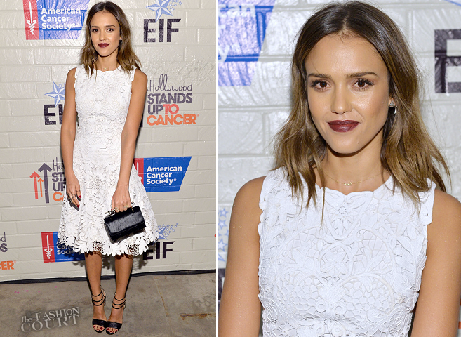Jessica Alba in Ralph Lauren | Hollywood Stands Up to Cancer