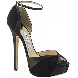 Jimmy Choo Spring 2014 Award Season MARIAH Platform Sandals