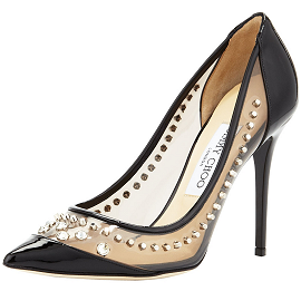 Jimmy Choo Cruise 2014 CARDINAL Studded Pumps