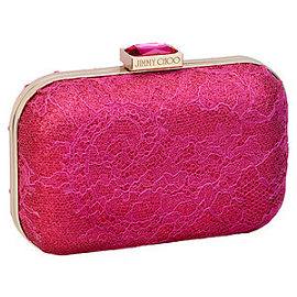 Jimmy Choo Spring 2013 CLOUD Lace Clutch