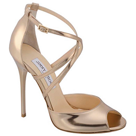 Jimmy Choo Mirrored VALETTA Sandals