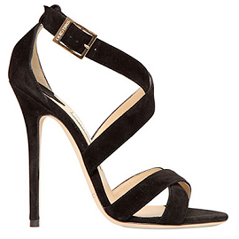 Jimmy Choo XENIA Suede Sandals
