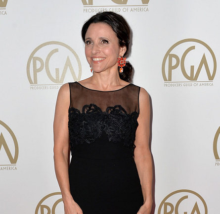Julia Louis-Dreyfus in MaxMara | 2014 Producers Guild of America Awards