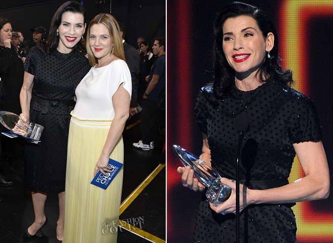 Julianna Margulies in Vintage Dior | 2014 People's Choice Awards
