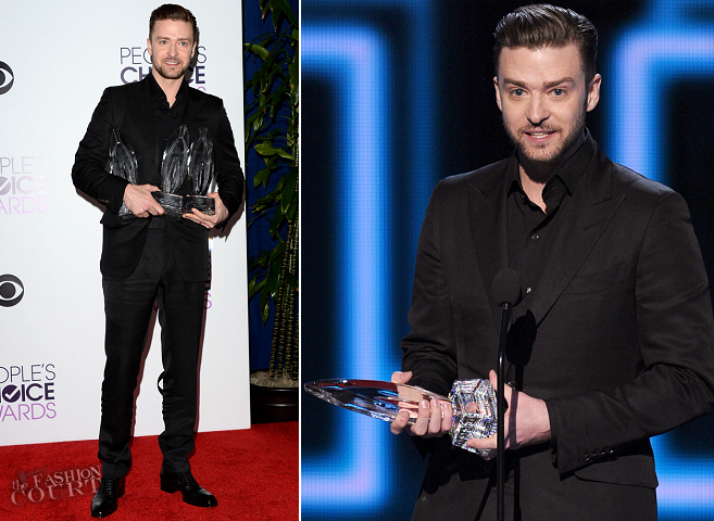 Justin Timberlake in Tom Ford | 2014 People's Choice Awards