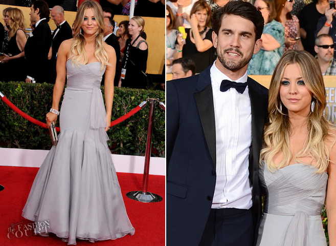 Kaley Cuoco in Vera Wang | 2014 SAG Awards