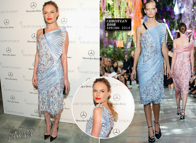 Kate Bosworth in Christian Dior | The Art of Elysium HEAVEN Gala 2014