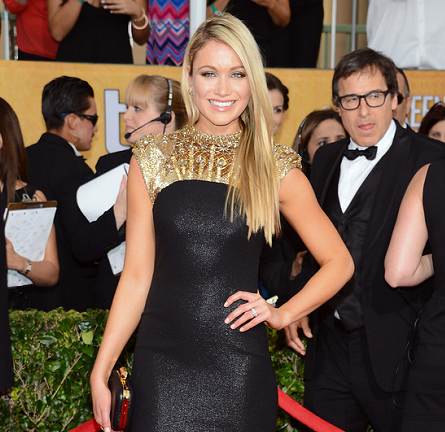 Katrina Bowden in Badgley Mischka | 2014 SAG Awards
