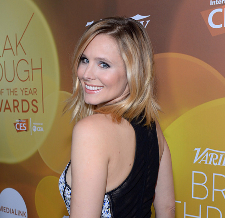 Kristen Bell in Yigal Azrouël   2014 Variety Breakthrough Of The Year Awards