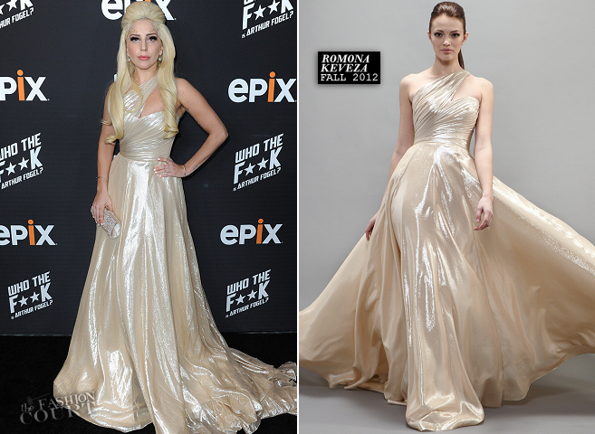 Lady Gaga in Romona Keveza | EPIX's Evening with Arthur Fogel