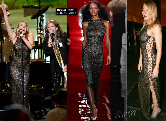 LeAnn Rimes in Reem Acra | 2014 MusiCares Person Of The Year Honoring Carole King