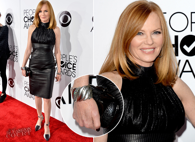 Marg Helgenberger in Rubin Singer | 2014 People's Choice Awards