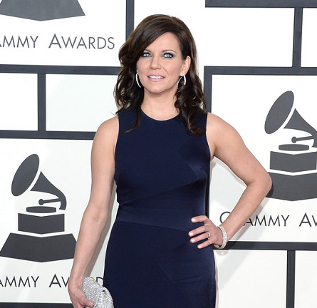 Martina McBride in David Meister | 2014 GRAMMY Awards