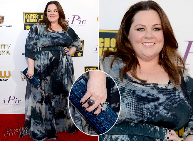 Melissa McCarthy in Custom | 2014 Critics' Choice Movie Awards