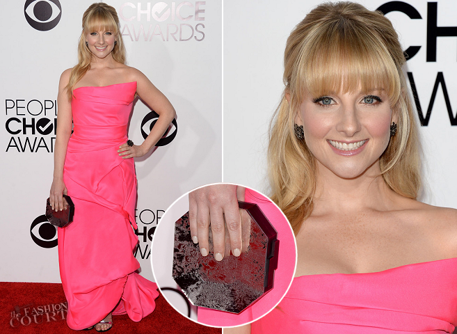 Melissa Rauch in Rubin Singer | 2014 People's Choice Awards