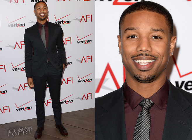 Michael B. Jordan in Gucci | AFI Awards 2014